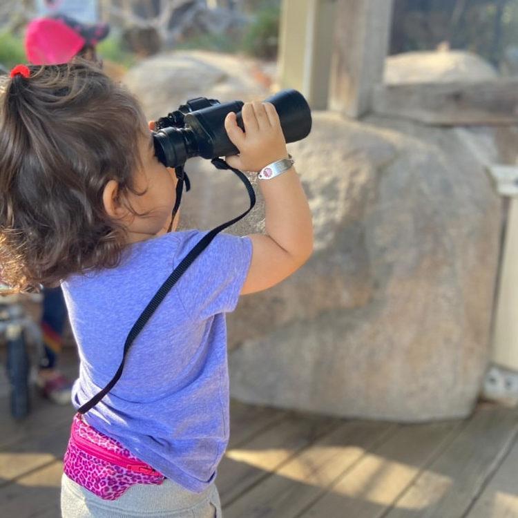 SPIbelt magväska Kids - Pink Leopard