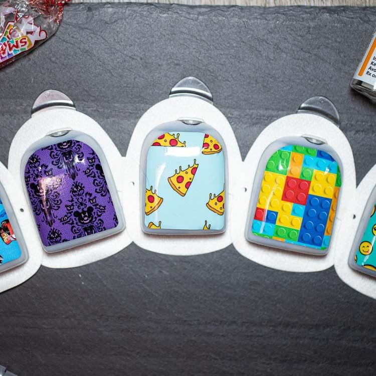 Stickers Omnipod - Spongebob