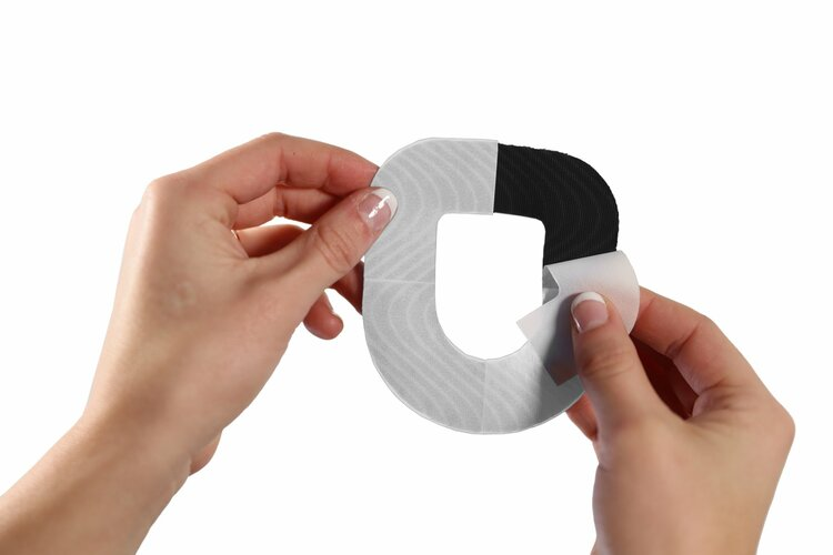 SkinGrip Omnipod Adhesive Patches - Pink