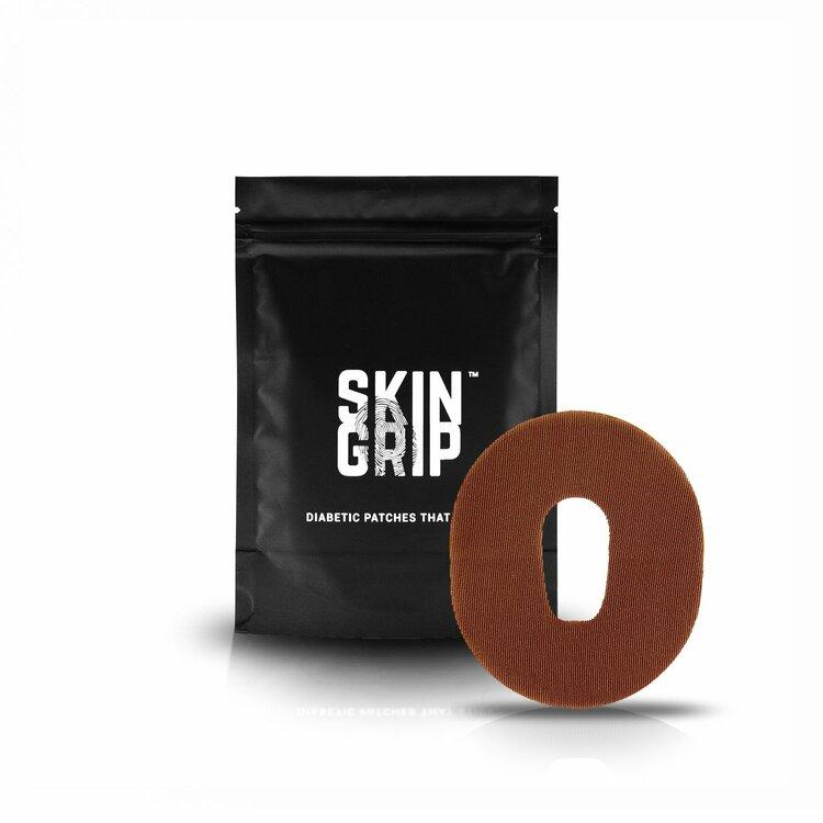 SkinGrip Dexcom G6 Adhesive Patches Chocolate