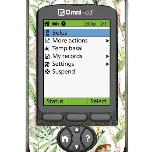 Omnipod PDM Sticker - The Tropics