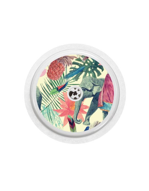 4 Freestyle Libre Sensor Stickers - Indian Spirit