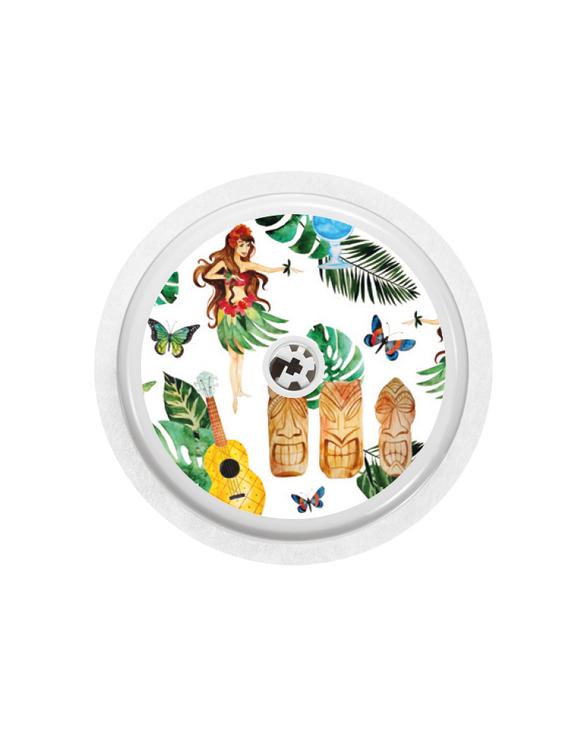 4 Freestyle Libre Sensor Stickers - La Playa Combo
