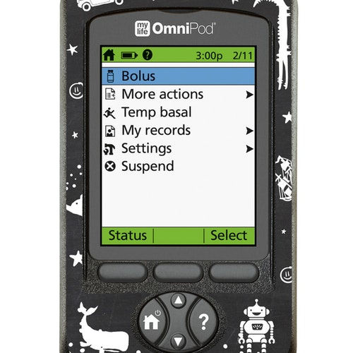 Omnipod PDM Sticker - Shapes Boy