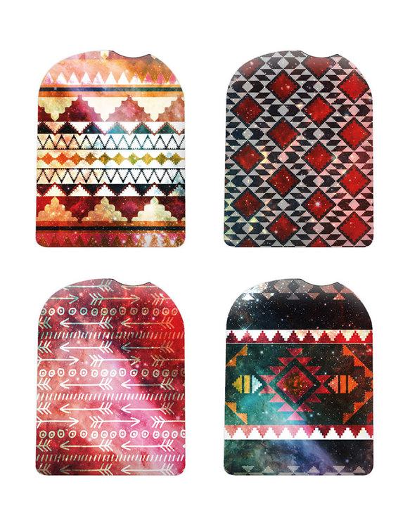 Omnipod Pod Stickers Aztec Dreams