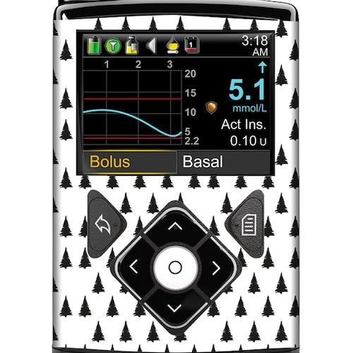 Medtronic MiniMed™ 630G, 670G och 770G – Stickers Pine Tree