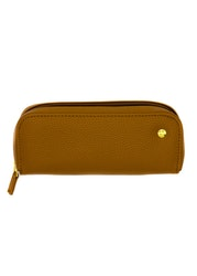Dia Pen Clutch Brown