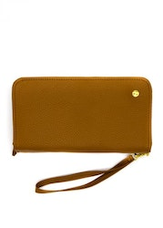 Dia Combi Clutch Brown