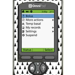 Omnipod PDM Sticker - X-MAS TREE