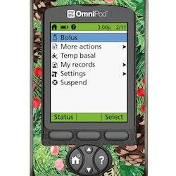 Omnipod PDM Sticker - X-MAS