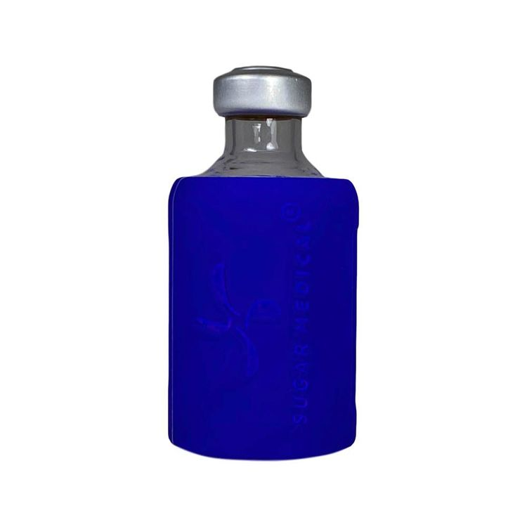 Insulin Vial Protective Silicone Sleeve Blue