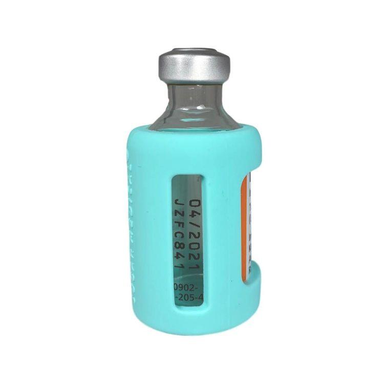 Insulin Vial Protective Silicone Sleeve Aqua