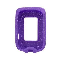 FreeStyle Libre Silikonskal Purple Glitter
