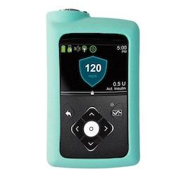 Medtronic MiniMed™ 630G, 670G och 770G - Silikonskal Aqua