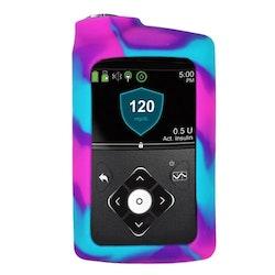 Medtronic MiniMed™ 630G, 670G och 770G - Silikonskal Pink Purple