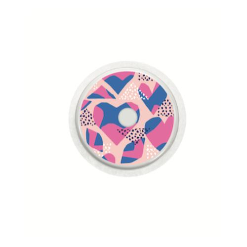 Freestyle Libre Sensor Stickers - Love
