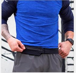 SPIbelt Dual Pocket Pro Adult - Black