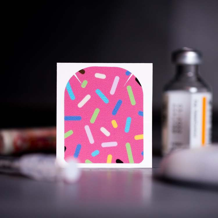 Stickers Omnipod - Sprinkle