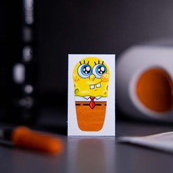 Sticker Dexcom G6 Transmitter - Spongebob