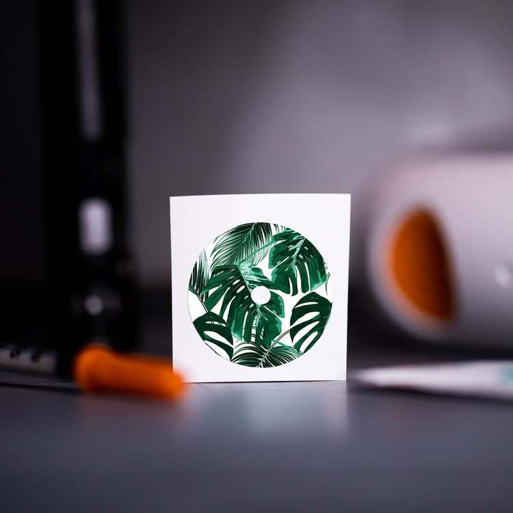 Sticker FreeStyle Libre Sensor - Leaf it