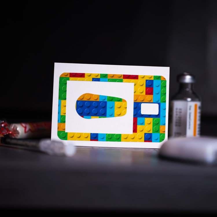 Sticker Tandem t:slim X2 - Lego
