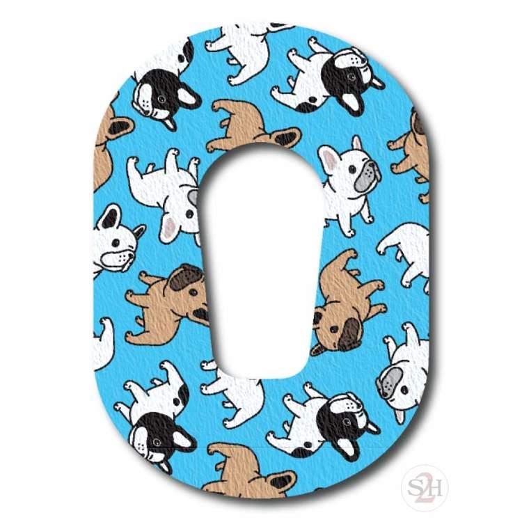 OverLay Patch Dexcom G6  - Puppies Blue