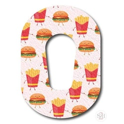 OverLay Patch Dexcom G6  - Burgers n' Fries