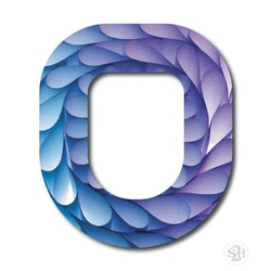 OverLay Patch Omnipod  -  Mermaid