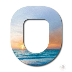 OverLay Patch Omnipod - Sunrise