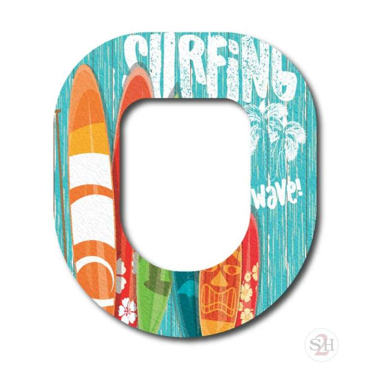 OverLay Patch Omnipod - Surf's Up