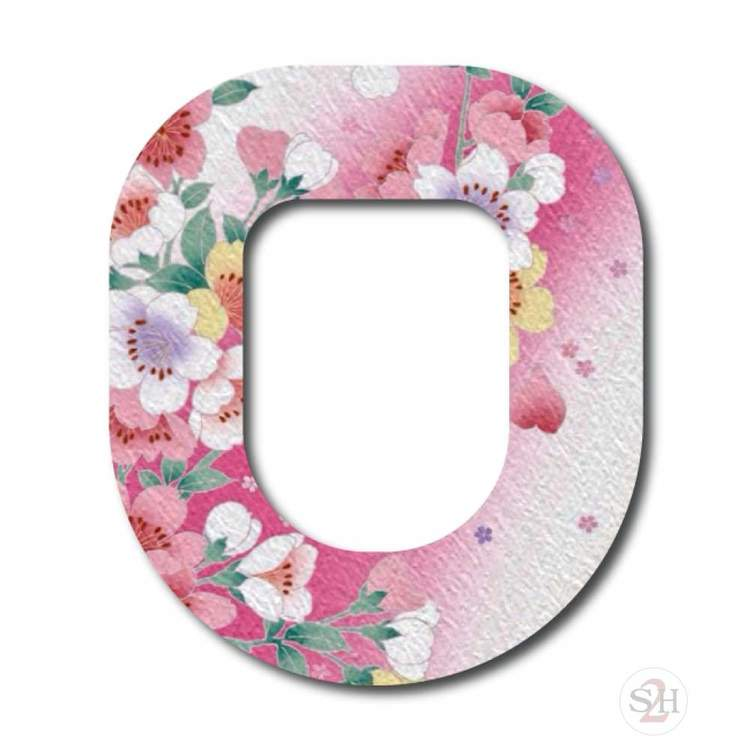 OverLay Patch Omnipod - Blooming