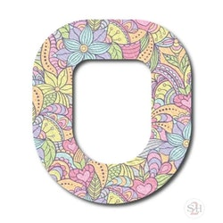 OverLay Patch Omnipod - Pastel Blooms