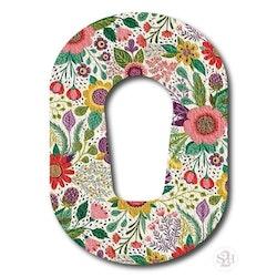 OverLay Patch Dexcom G6  - Summer Blossom