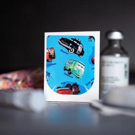 Stickers Omnipod - Cars