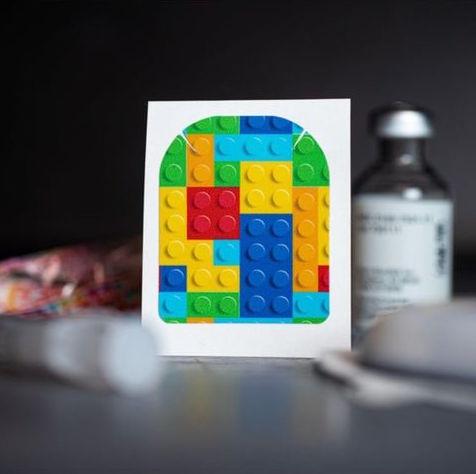 Stickers Omnipod - Lego