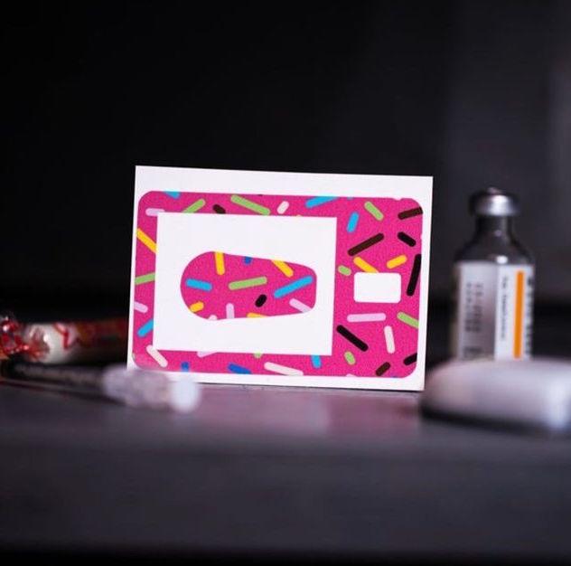 Sticker Tandem t:slim X2 - Sprinkle
