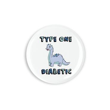 O.C. Badges - Type One Diabetic Dia-saur