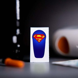 Sticker Dexcom G6 Transmitter - Superman