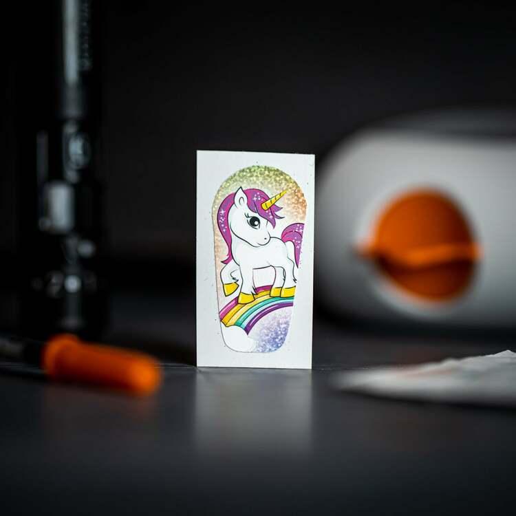 Sticker Dexcom G6 Transmitter - My Little Pony