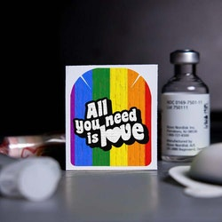Stickers Omnipod - All You Need is Love