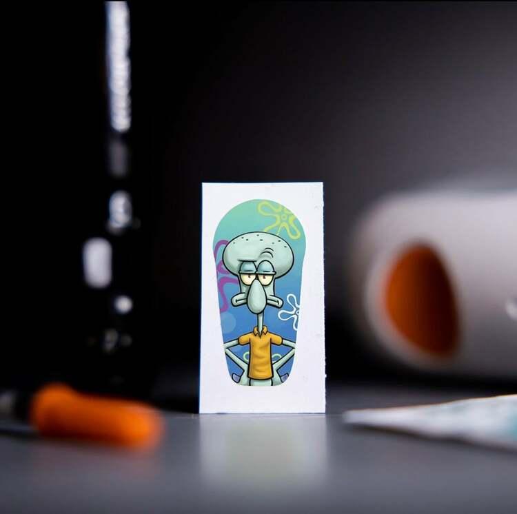 Sticker Dexcom G6 Transmitter - Bläckvard