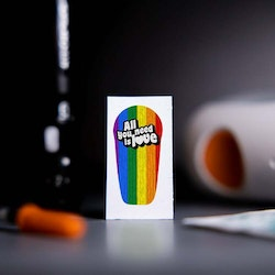 Sticker Dexcom G6 Transmitter - All You Need is Love