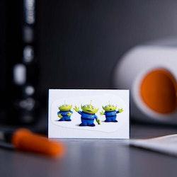Sticker Dexcom G6 Transmitter - Toy Story Aliens
