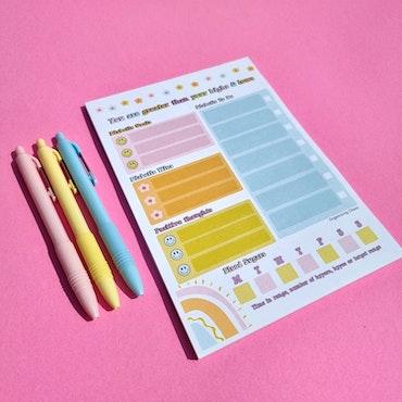 O.C. Diabetes TO-DO Notepad