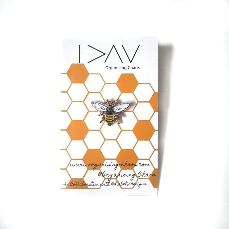 O.C. Pin - Dia-BEE-tes