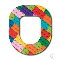 OverLay Patch Omnipod - Lego