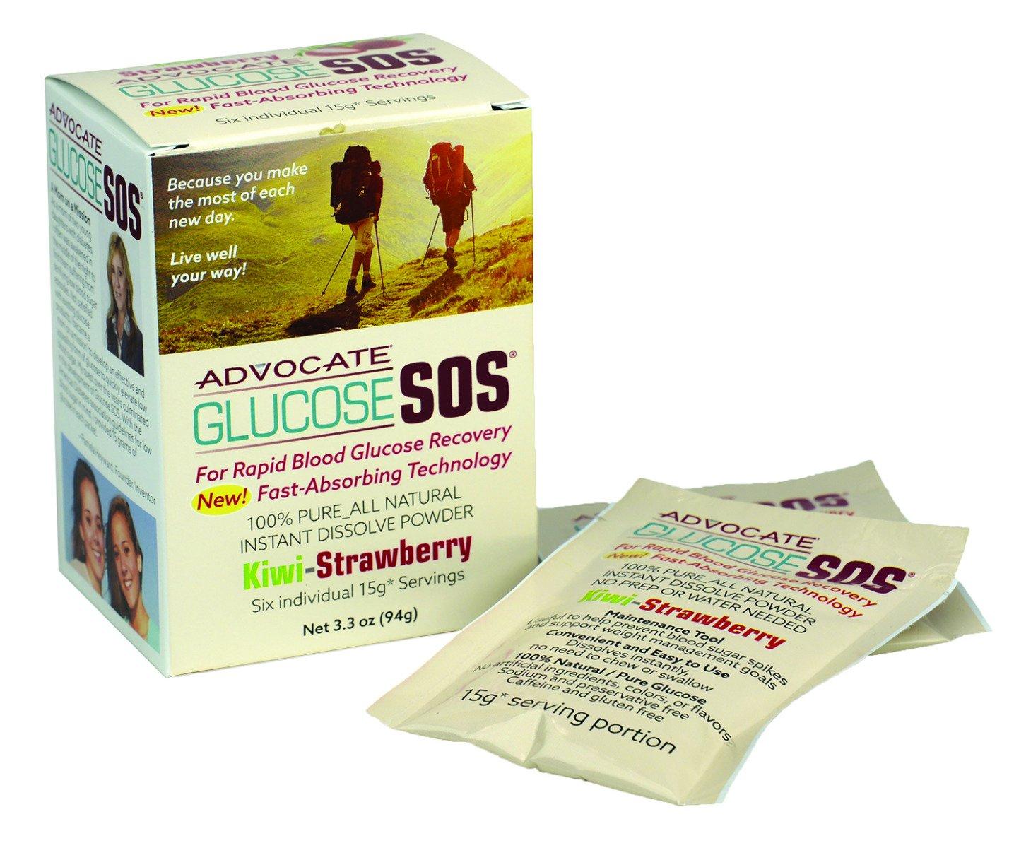 Glucose SOS Packs - Kiwi Strawberry