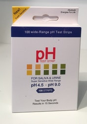 pH-strips, 4,5-9