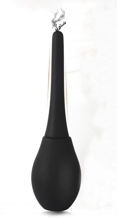 Klyster-sprøyte i silikon