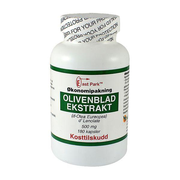 Olivenblad-ekstrakt 500 mg. - East Park